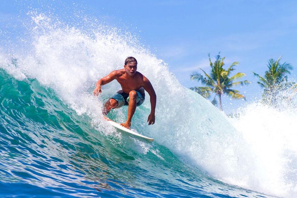 Campeonato de surfe é comum em Itacaré
