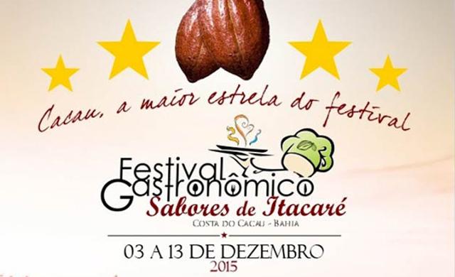 """Festival Gastronômico """"Sabores de Itacaré"""""""